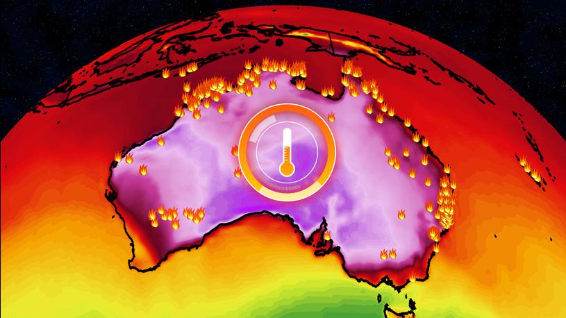 Australia día más caluroso