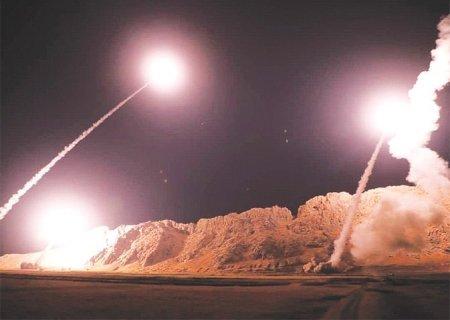 Lanzamiento misiles Irán base militar estadounidense Al Asad